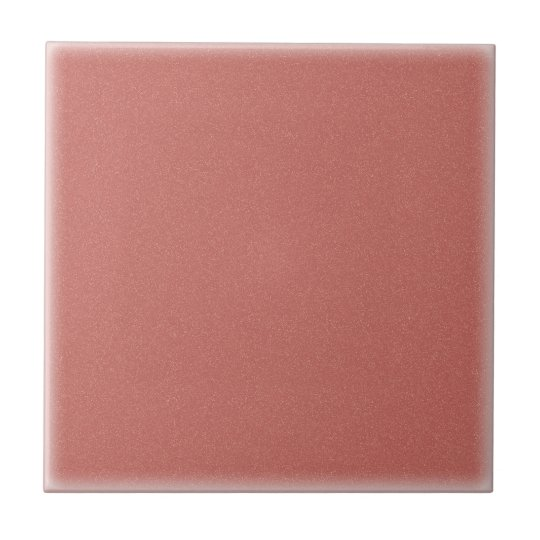 Speckled Gold Dusty Rose (Ceramic Tile) Small Square
