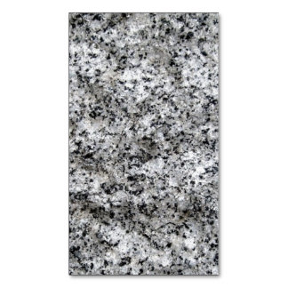 SPECKLED GRANITE Business Card Blank (add text) ~. Magnetic Business Cards