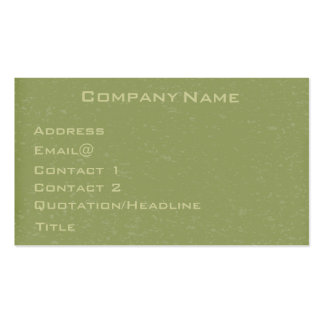 Speckled green Profile Card - Customize it! Business Card Templates