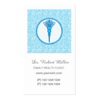 Speckled Lines Appointment for  Doctors Pack Of Standard Business Cards