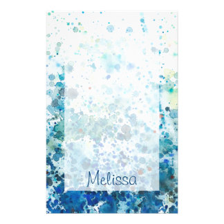 Speckled Sea I Stationery Paper