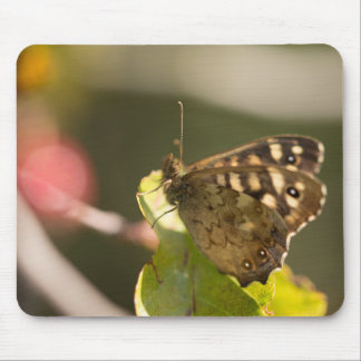 Speckled Wood Butterfly Mouse Mat