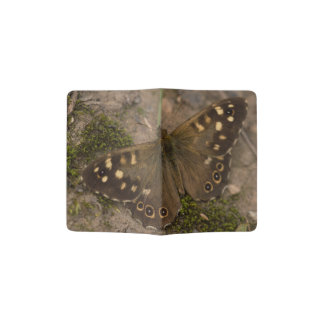 Speckled Wood Butterfly Passport Holder