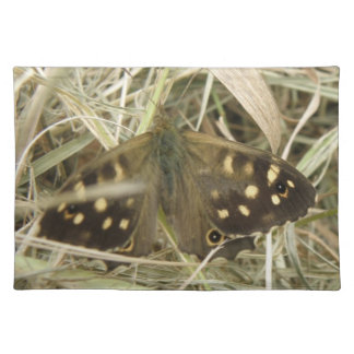 Speckled Wood Butterfly Placemat