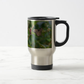 Speckled Wood Butterfly Travel Mug