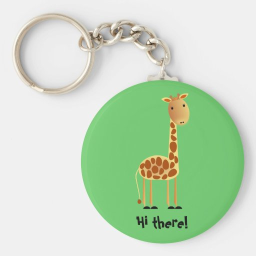 Speckles Key Chain