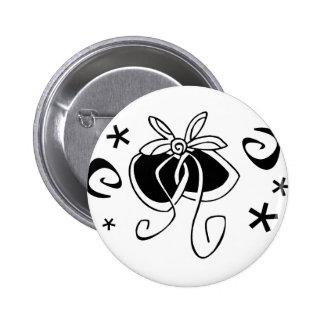 Specl001 Bow 6 Cm Round Badge