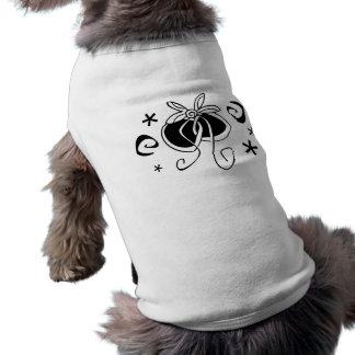Specl001 Bow Sleeveless Dog Shirt