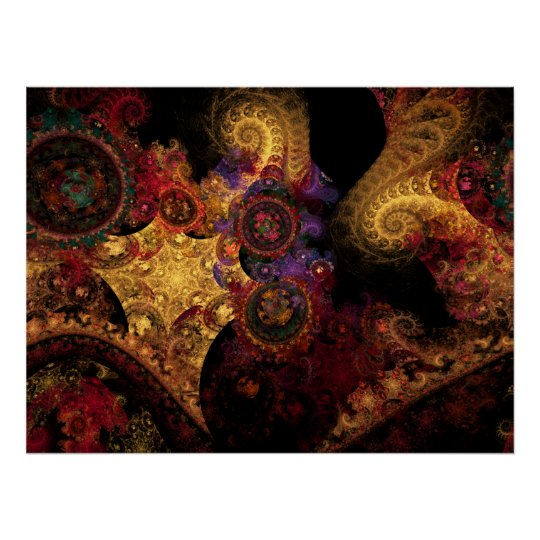 Spectacle Fractal Poster