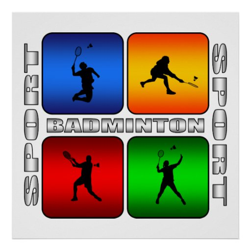 Spectacular Badminton Posters