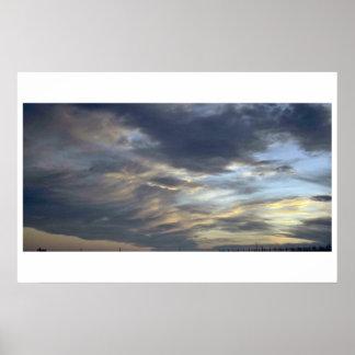 Spectacular Cloudy Sky Poster