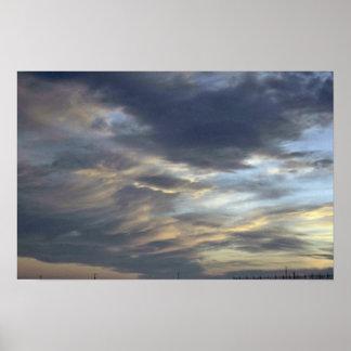 Spectacular Cloudy Sky Print