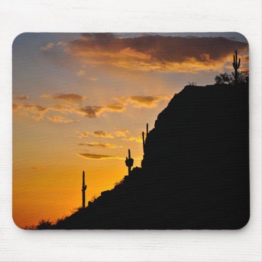 Spectacular Desert Sunset Mouse Mat