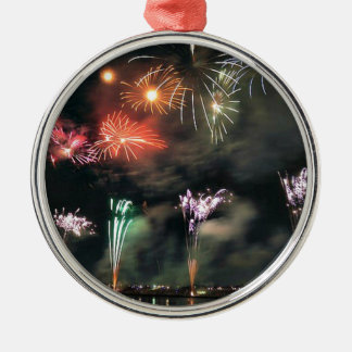 Spectacular Fireworks Christmas Ornament