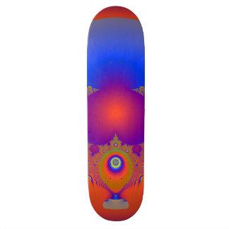 Spectacular Fractal Design 19.7 Cm Skateboard Deck