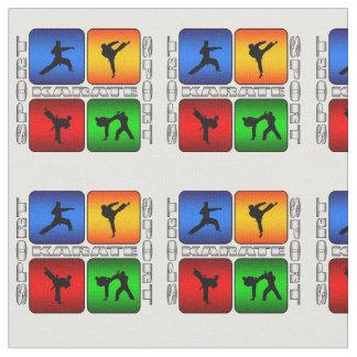 Spectacular Karate Judo Kung Fu Ninja Martial Arts Fabric