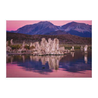 Spectacular Mono Lake In The Shadow Stretched Canvas Print