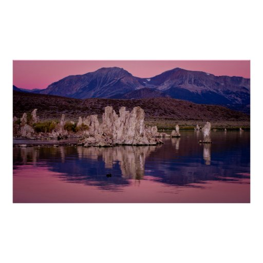 Spectacular Mono Lake In The Shadow Posters
