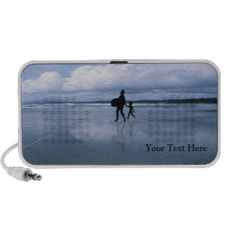 Spectacular Ocean Waves and Beach Notebook Speaker