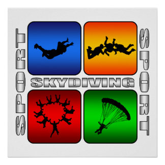 Spectacular Skydiving Print
