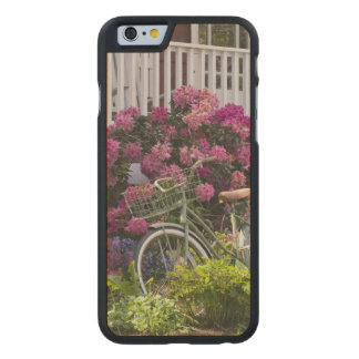 Spectacular spring bloom, whimsical antique carved maple iPhone 6 case