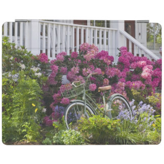 Spectacular spring bloom, whimsical antique iPad cover