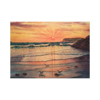 Spectacular Sunset in Coronado, CA Canvas Print