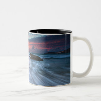 Spectacular Sunset | Stone Beach, El Two-Tone Coffee Mug