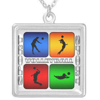 Spectacular Volleyball Necklace