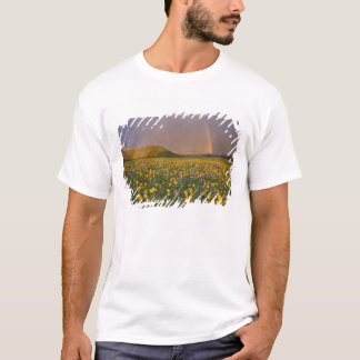 Spectacular wildflower meadow at sunrise in the 2 T-Shirt