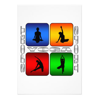 Spectacular Yoga Invitation