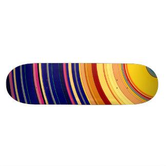 Spectral Sun Rays Custom Skateboard