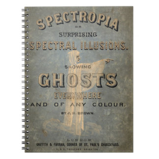 Spectropia - A Study of Ghosts - 1866 Spiral Notebook