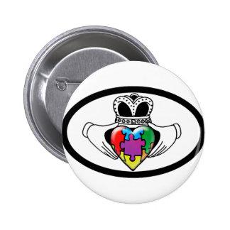 Spectrum Claddagh Pin