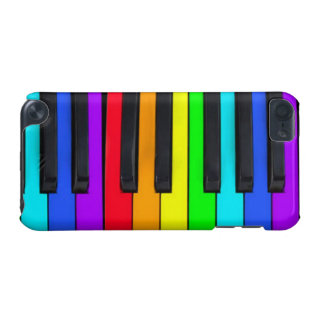 Spectrum Colors Piano Keyboard iPod Touch 5G Case