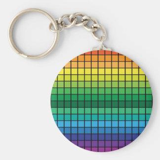 Spectrum Cubes Key Chain