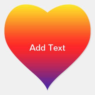 Spectrum of Horizontal Colors -1 Stickers