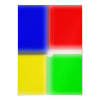 spectrum square colour card