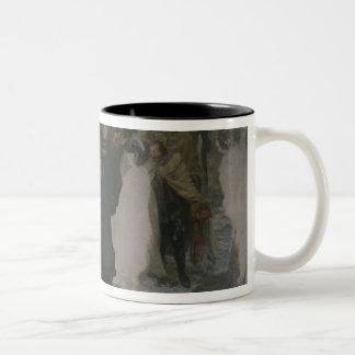 Speech before the Battle of Leuthen, 1858 Two-Tone Coffee Mug