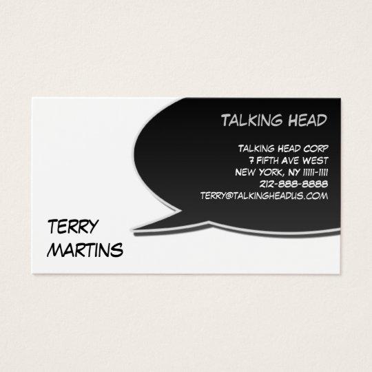 Speech Bubble Card