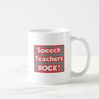 Speech Teachers Rock! Basic White Mug