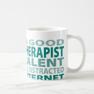 Speech Therapist 3% Talent Basic White Mug