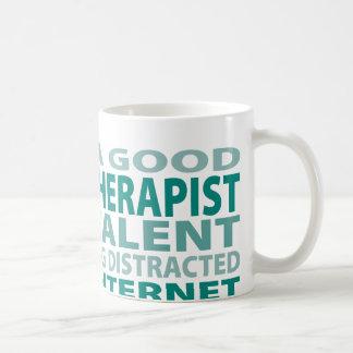 Speech Therapist 3% Talent Basic White Mug