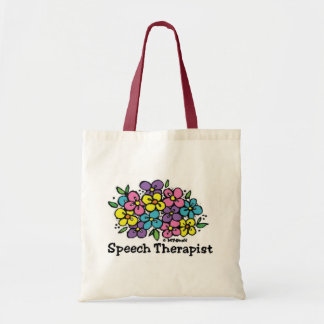 Speech Therapist Blooms1 Budget Tote Bag