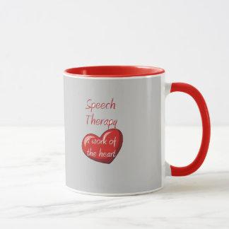 Speech therapist mug