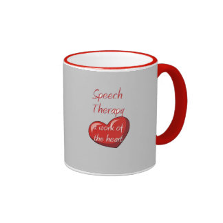 Speech therapist ringer mug