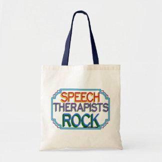 Speech Therapists Rock Tote Bag