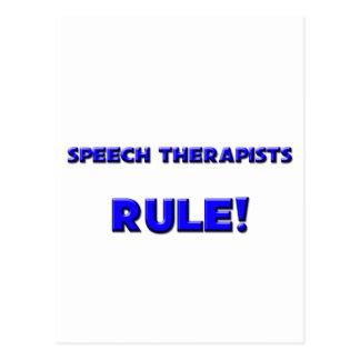 Speech Therapists Rule! Postcard