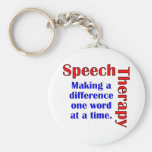 Speech Thereapy Key Chain