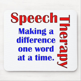 Speech Thereapy Mouse Mat